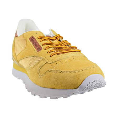 Reebok Classic Leather OL Mens Shoes Golden WheatSteelGold bd2037