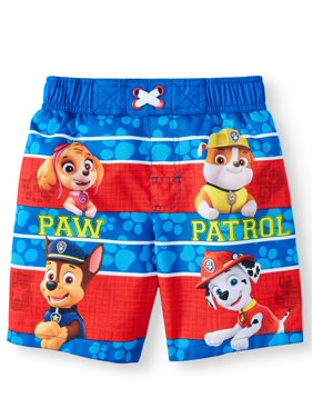 837da51c7a Product Image PAW Patrol Paw Patrol Board Short Swim Trunks (Toddler Boys)
