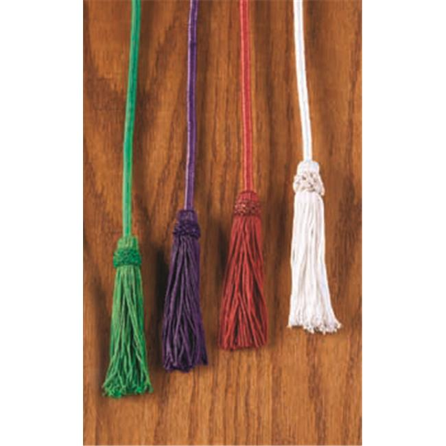 CBCS JC960GRN Rayon Cincture with Tassel, Green