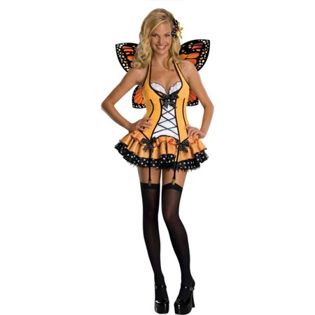 Morris Costumes Womens Fantasy Butterfly Small Adult Costume