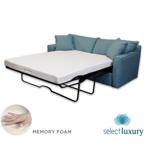 New Life 4.5in Memory Foam Mattress Pullout Bed for Sleeper Sofa (Full)