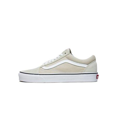 0e14d59f01 Vans - Mens Vans Old Skool Silver Lining True White VN0A38G1QA3 ...