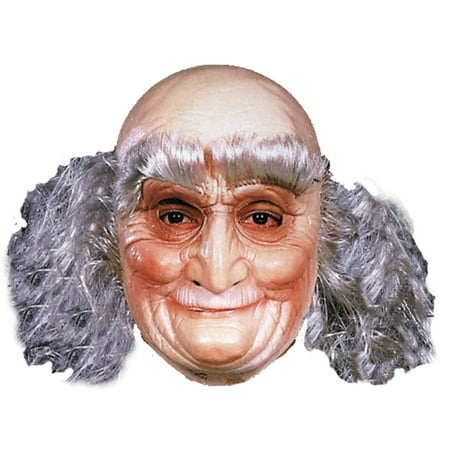 Old Man Mask Halloween Accessory (Old Man Prosthetic Mask)