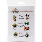 Peachy Keen Stamps Clear Face & Word Assortment 13/pkg -the Uglies