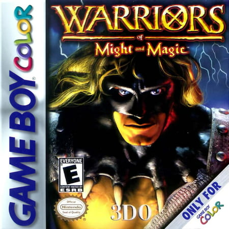 Warriors of Might & Magic Game Boy Color