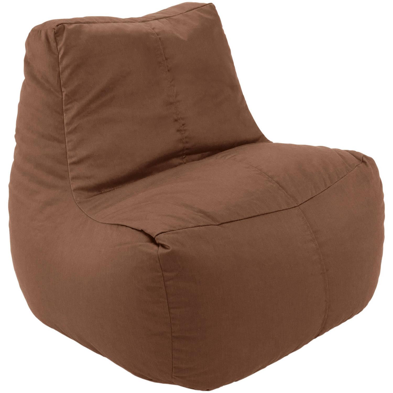 Image of Ace Bayou Fabric Lounge Beanbag, 4.5 cu ft, Costa Brown