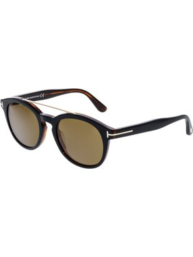454eb31c73ca5 Product Image Tom Ford Women s Newman FT0515-05H-53 Black Oval Sunglasses