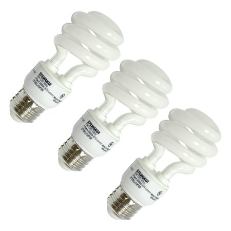 Sylvania 26378 - CF13EL/SPIRAL/865/RP3 (3-PACK) Twist Medium Screw Base Compact Fluorescent Light - Twist 3 Light