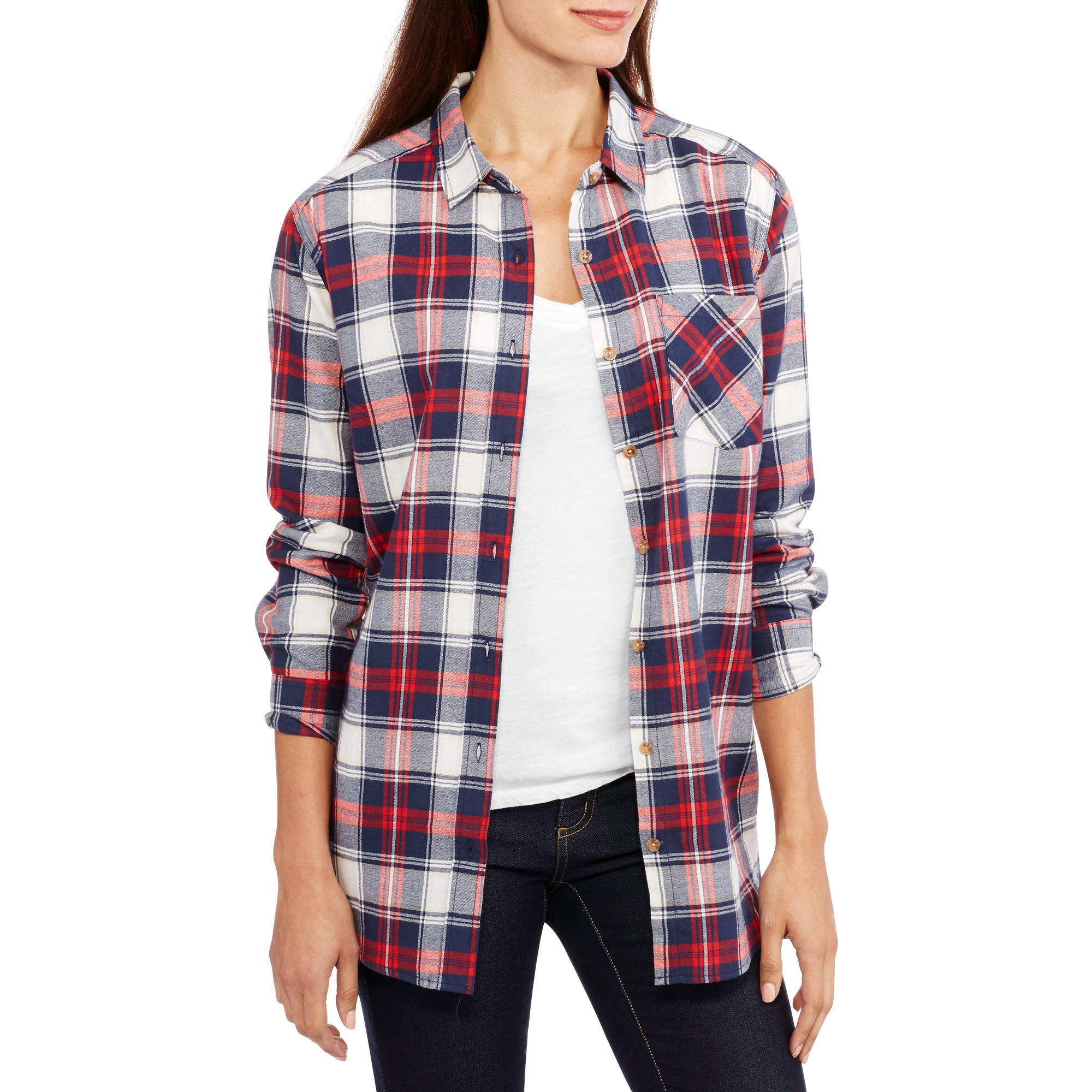 Womens Check Shirt