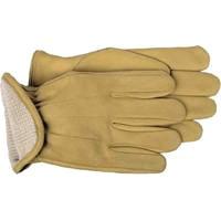 Boss 6133J Gunn Cut Driver Gloves, XL, Cotton Lining, Cowhide Leather,