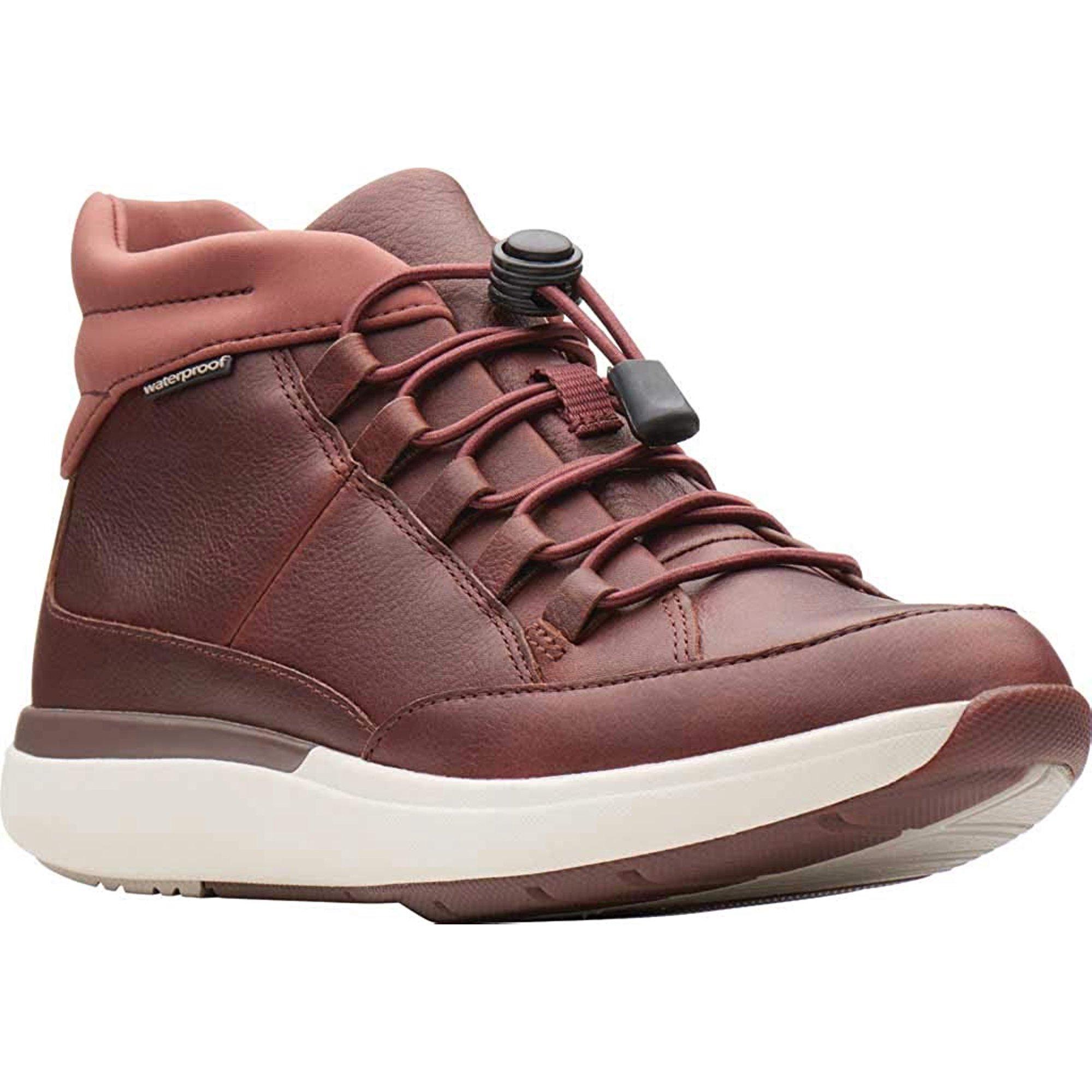 Vueltas y vueltas angustia Comportamiento  CLARKS Un Cruise Mid Womens Sneaker Boot Dark Tan Leather 10 W | Walmart  Canada
