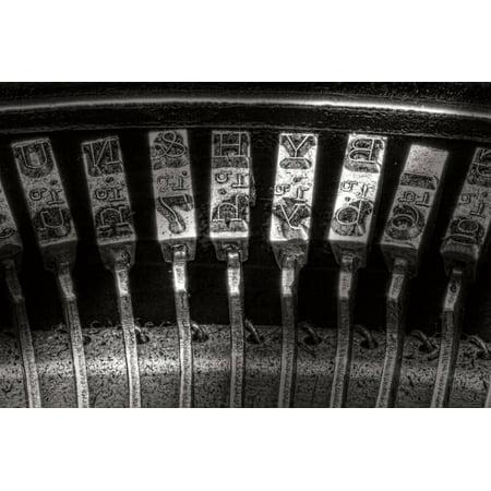 - Typewriter Keys I Print Wall Art By C. McNemar