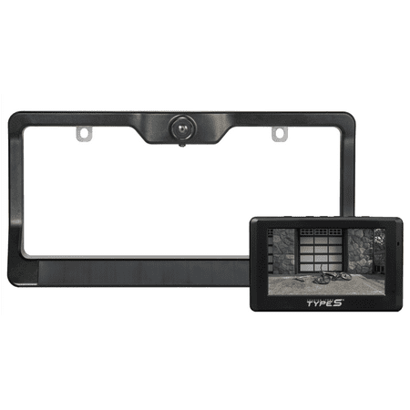 Type S License Plate Backup Camera
