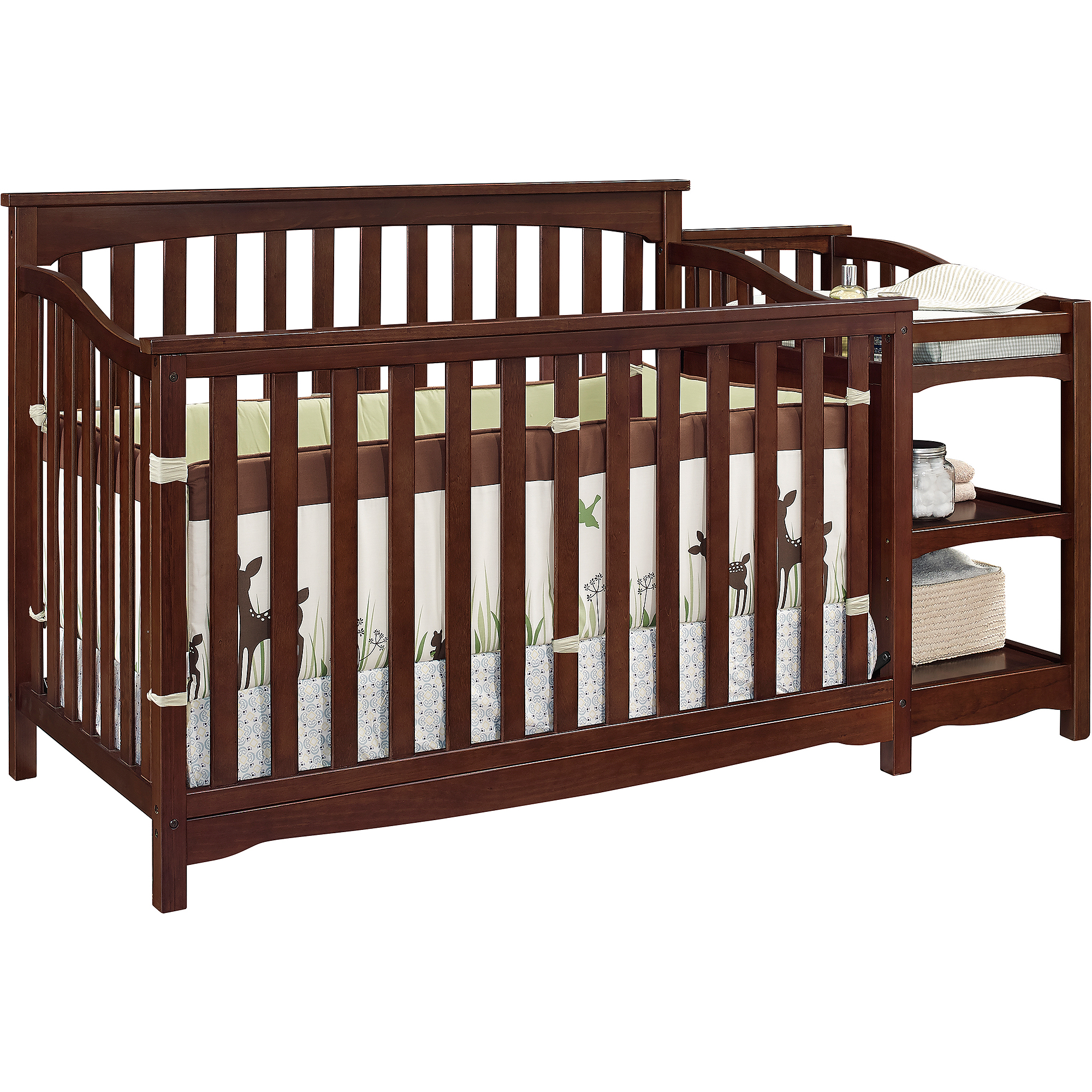 baby relax bailey fixed side crib and changer baby nursery furniture relax emma crib