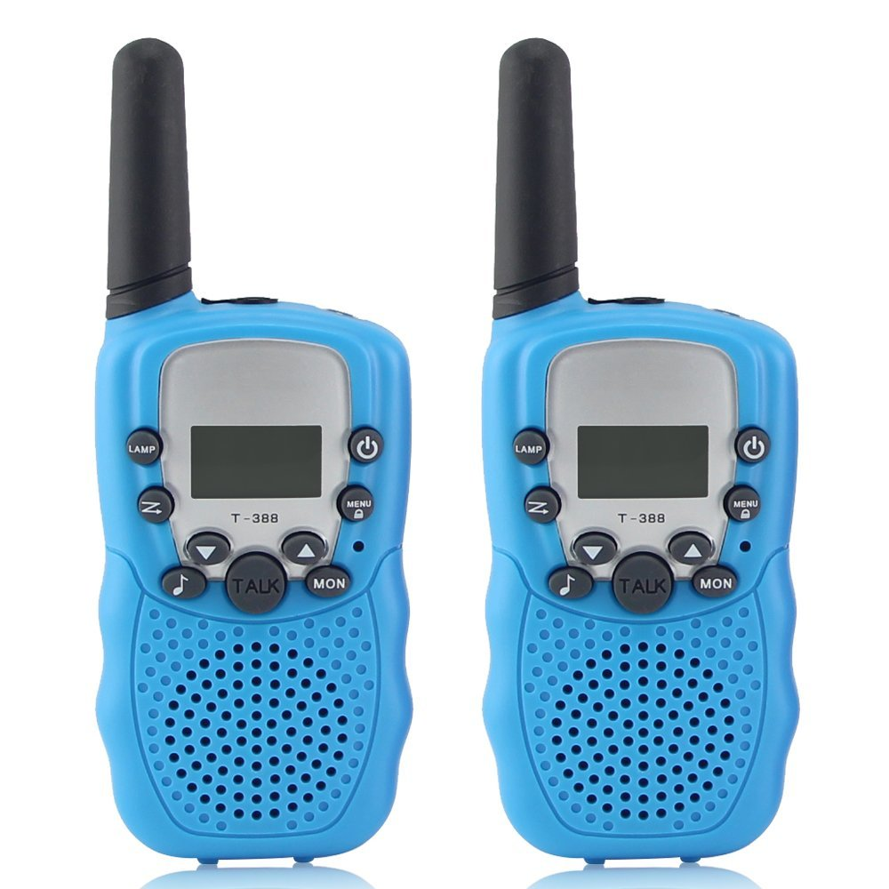 Crony T_388 UHF Band 3KM Small Walkie Talkie _2 pcs_