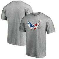 Washington Capitals Fanatics Branded Banner Wave T-Shirt - Ash