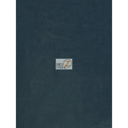 Microfiber Suede Upholstery Fabric / Navy Blue / Passion Suede Microsuede (Navy Upholstery)