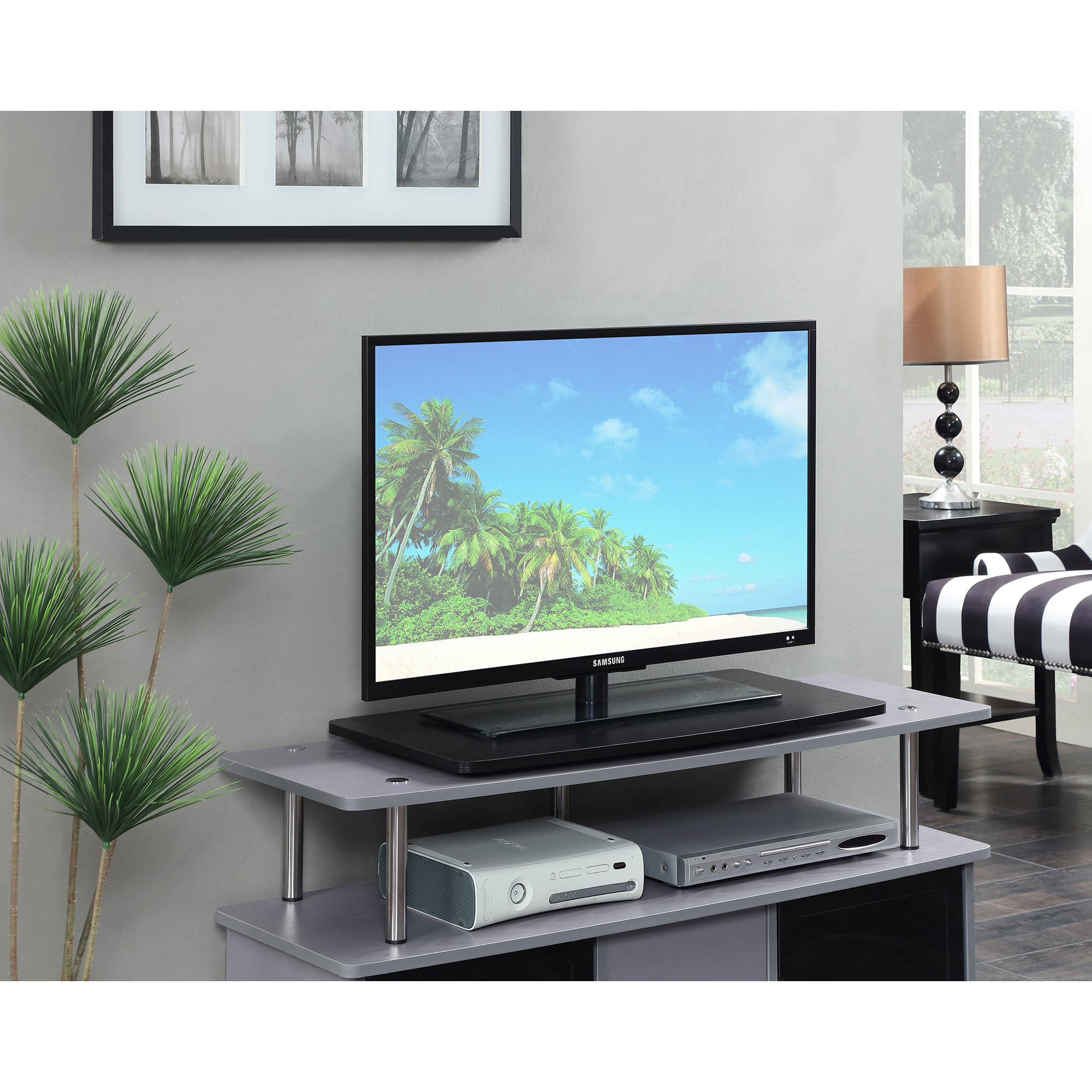 "Designs 2 Go XL Swivel TV Stand for TV or Monitor, for Screens up to 32"" by Convenience Concepts"