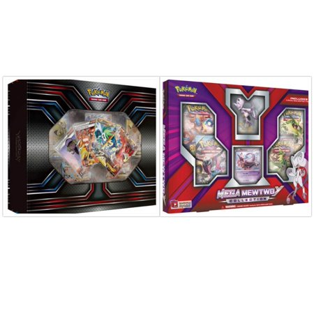 Pokemon TCG The Best of XY Premium Trainer Collection Box and Mega Mewtwo Y Collection Box Card Game Bundle, 1 of (Best Pokemon Rpg Games)