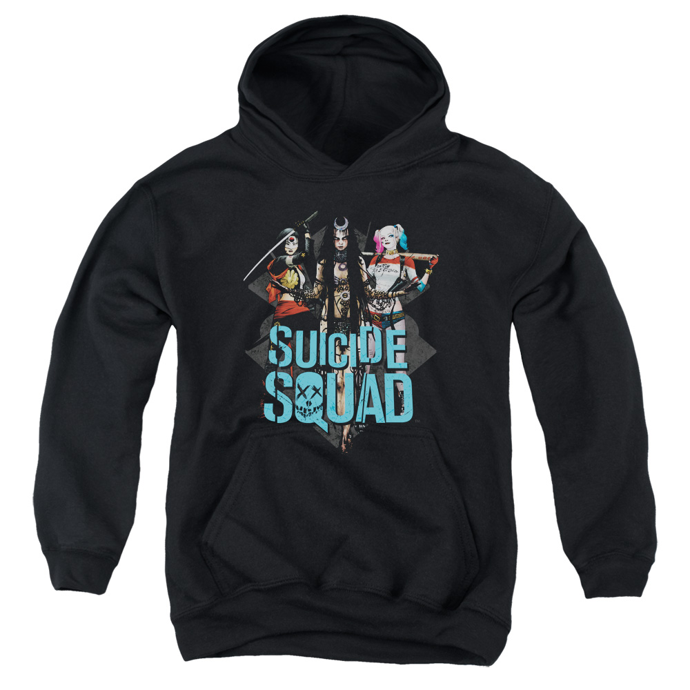 Suicide Squad Lovely Death Big Boys Pullover Hoodie