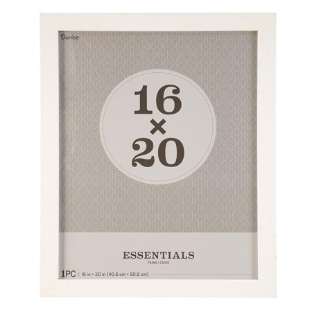 Essentials Picture Frame: White, 16 x 20 inches