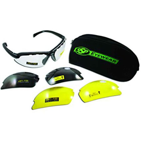 Safety Tip - SSP Top Focal 2.5 Shatterproof Safety Glass Kit Assorted Lenses, TF250 AST KIT