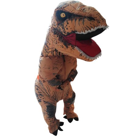 Skinz Adult Mega Suit Inflatable Zentai Costume T-Rex Dinosaur - Small (5-5'6 / 80-135lbs) - Dinosaur Adult