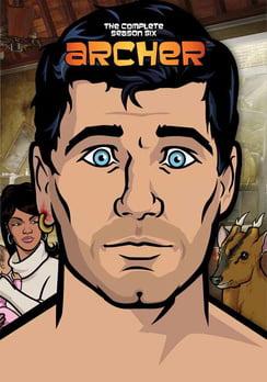 Archer: The Complete Season Six (DVD) by Twentieth Century Fox