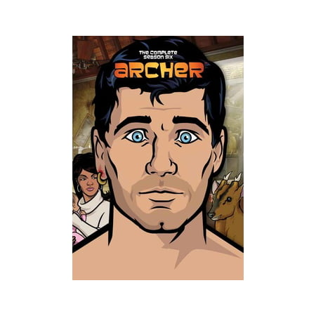 Archer: The Complete Season Six (DVD) (Archer Tv Series Dvd)