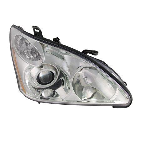 2004-2006 Lexus RX330 HID Passenger Side Headlight (w/o Bulbs and Ballast) (Lexus Rx330 Headlight Replacement)