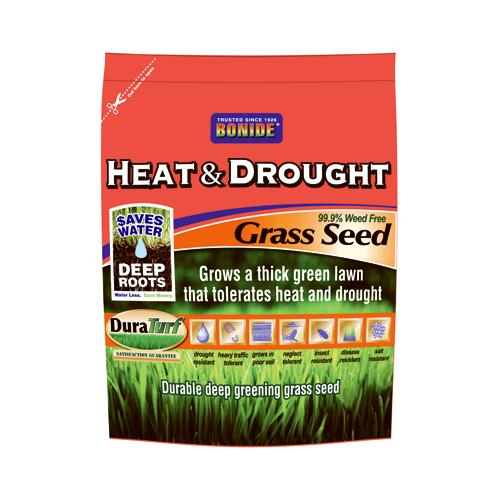 Bonide Product 60254 Grass Seed, Heat & Drought, 7-Lbs.