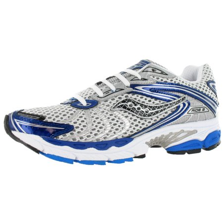 Saucony Progrid Ride 3 Wide Technical Mens Running Shoes Silverblue Size