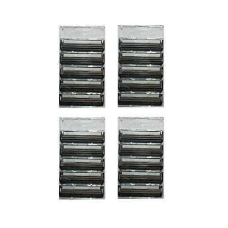Gillette Atra Plus Refill Razor Blade Cartridges, Bulk Packaging, 20 Count Atra Plus Refill Cartridges