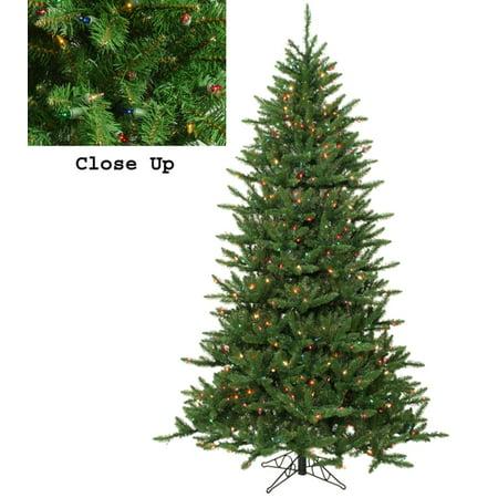 12' Pre-Lit Frasier Fir Artificial Christmas Tree & Rolling Stand - Multi  Lights - 12' Pre-Lit Frasier Fir Artificial Christmas Tree & Rolling Stand
