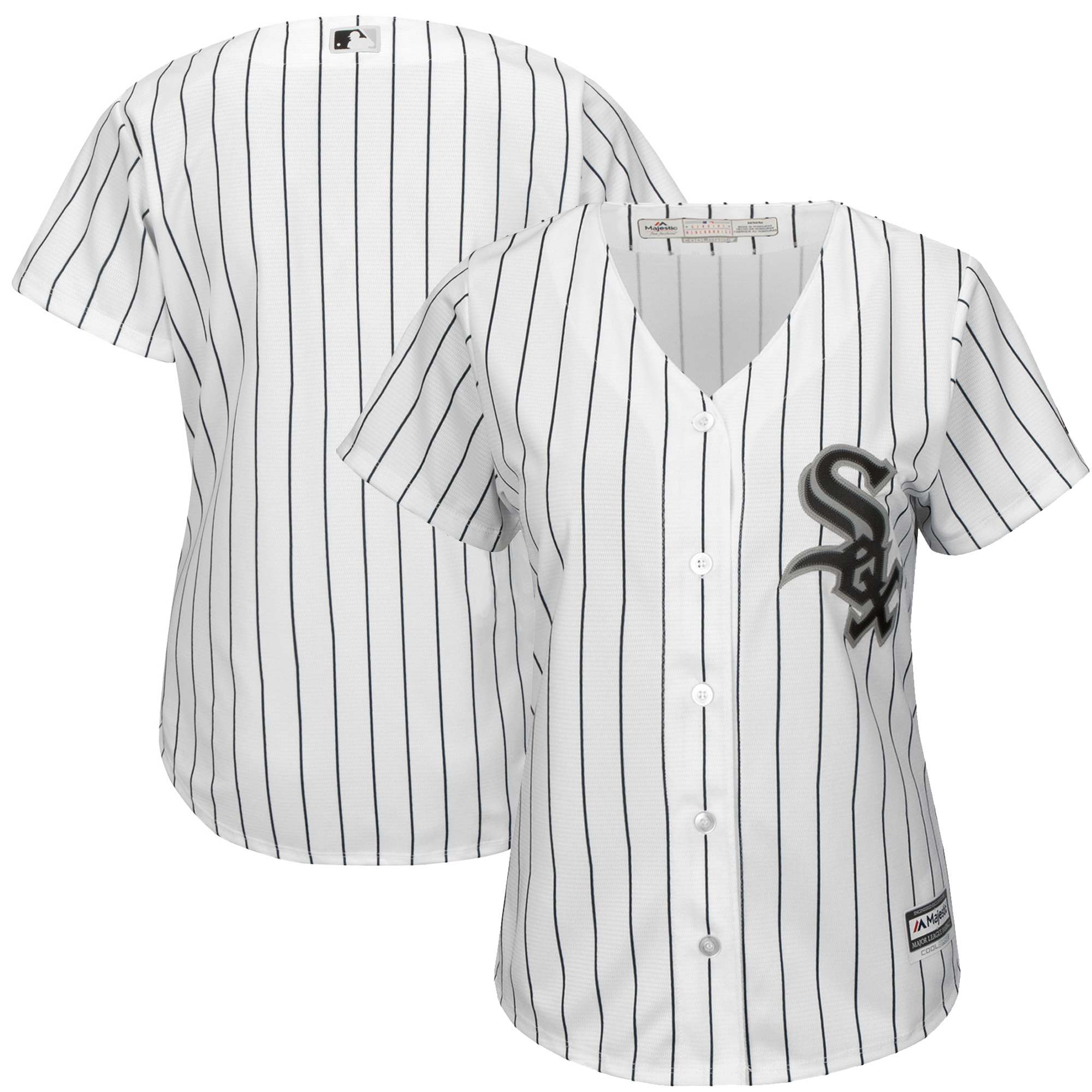 Chicago White Sox Majestic Women's Cool Base Jersey - White