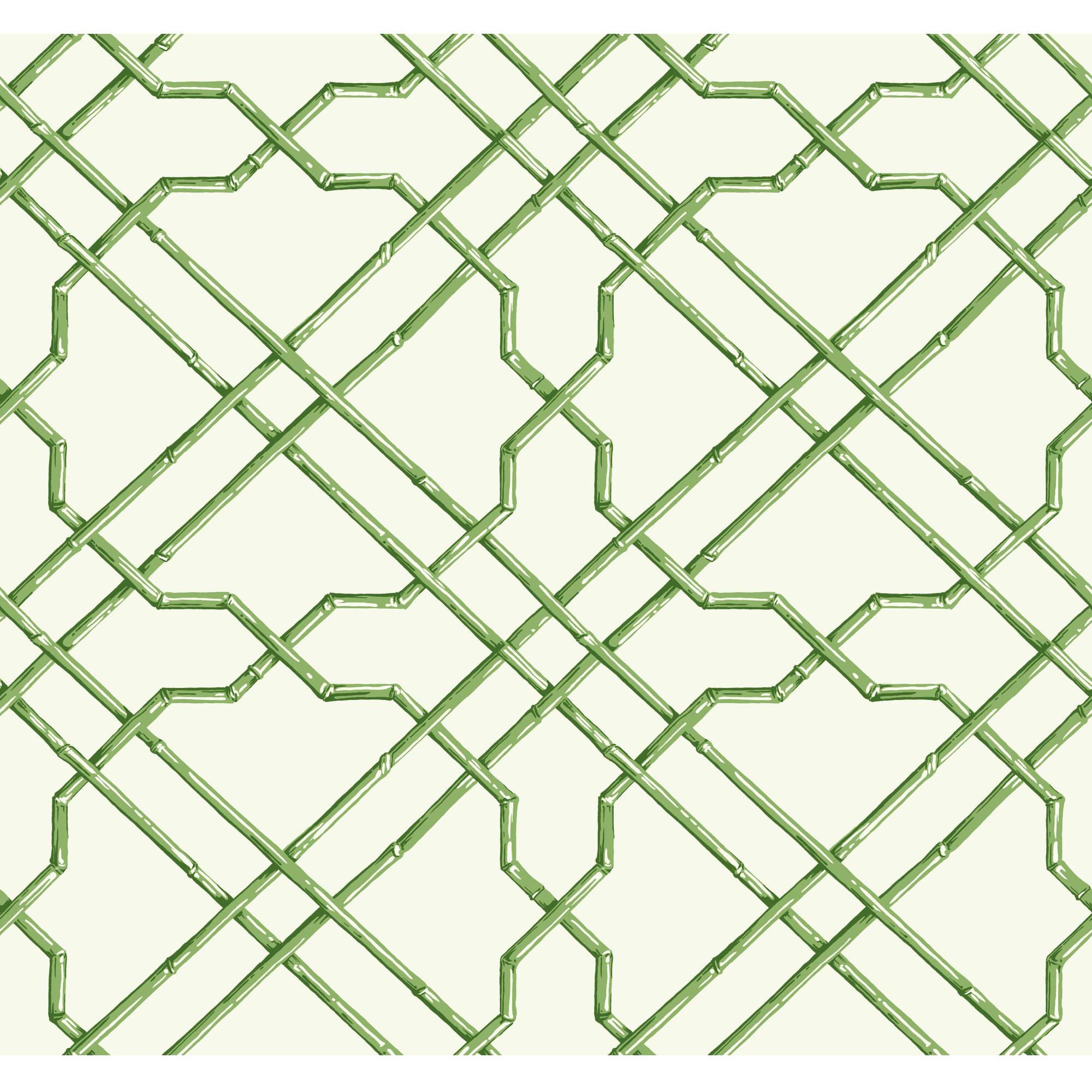 Tropics Bamboo Trellis Wallpaper