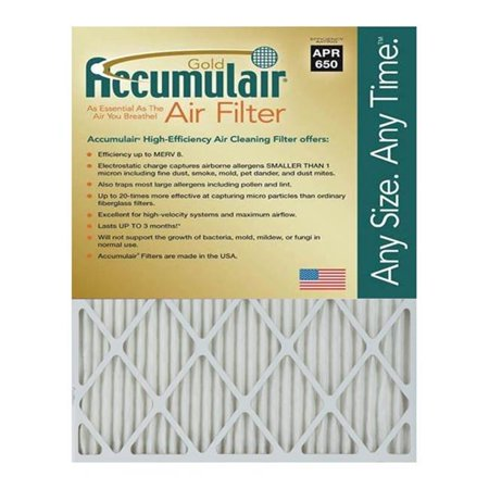 Accumulair FB20X40X4 Gold 4 In Filter Pack Of 2