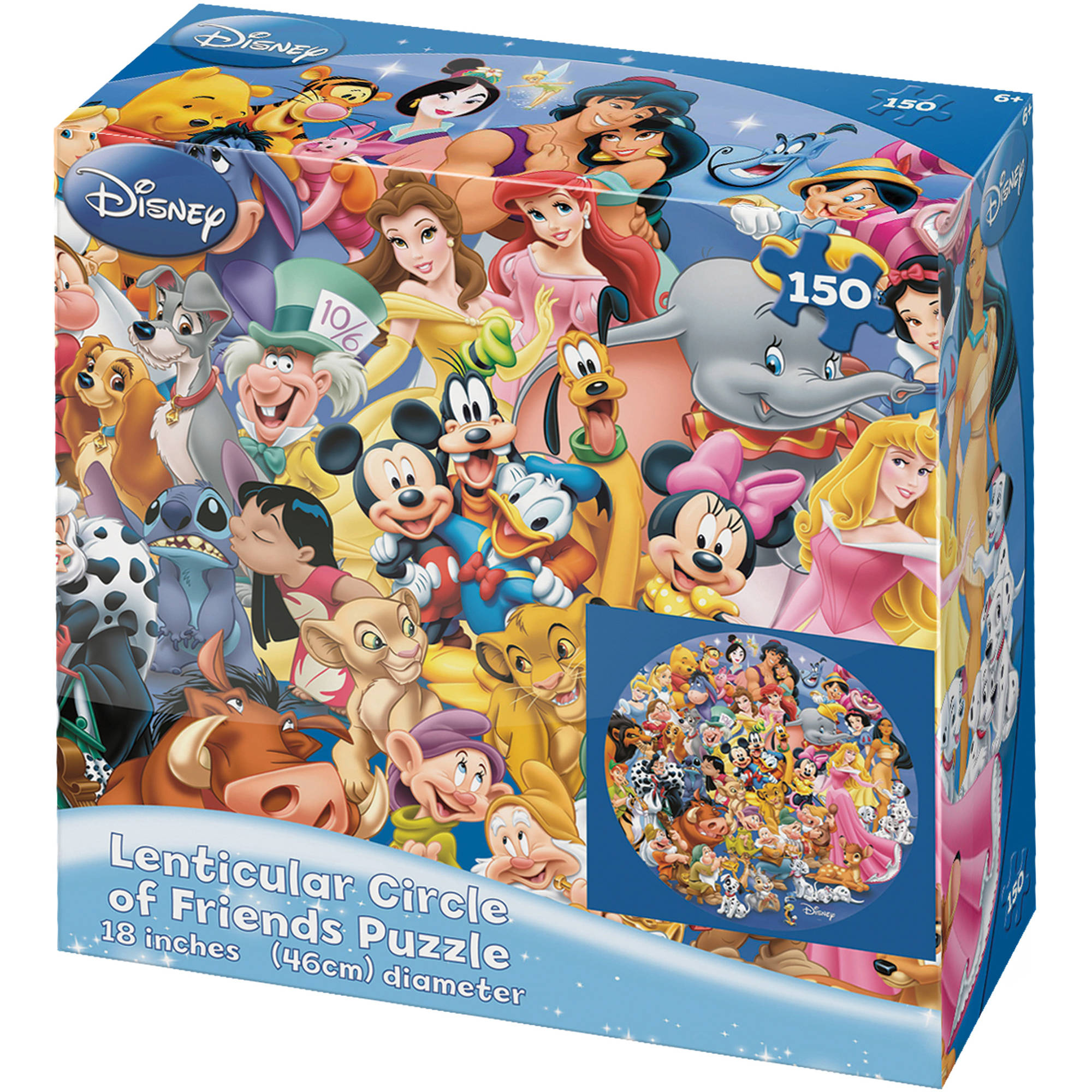 Disney Circle of Friends Lenticular 150-Piece Puzzle