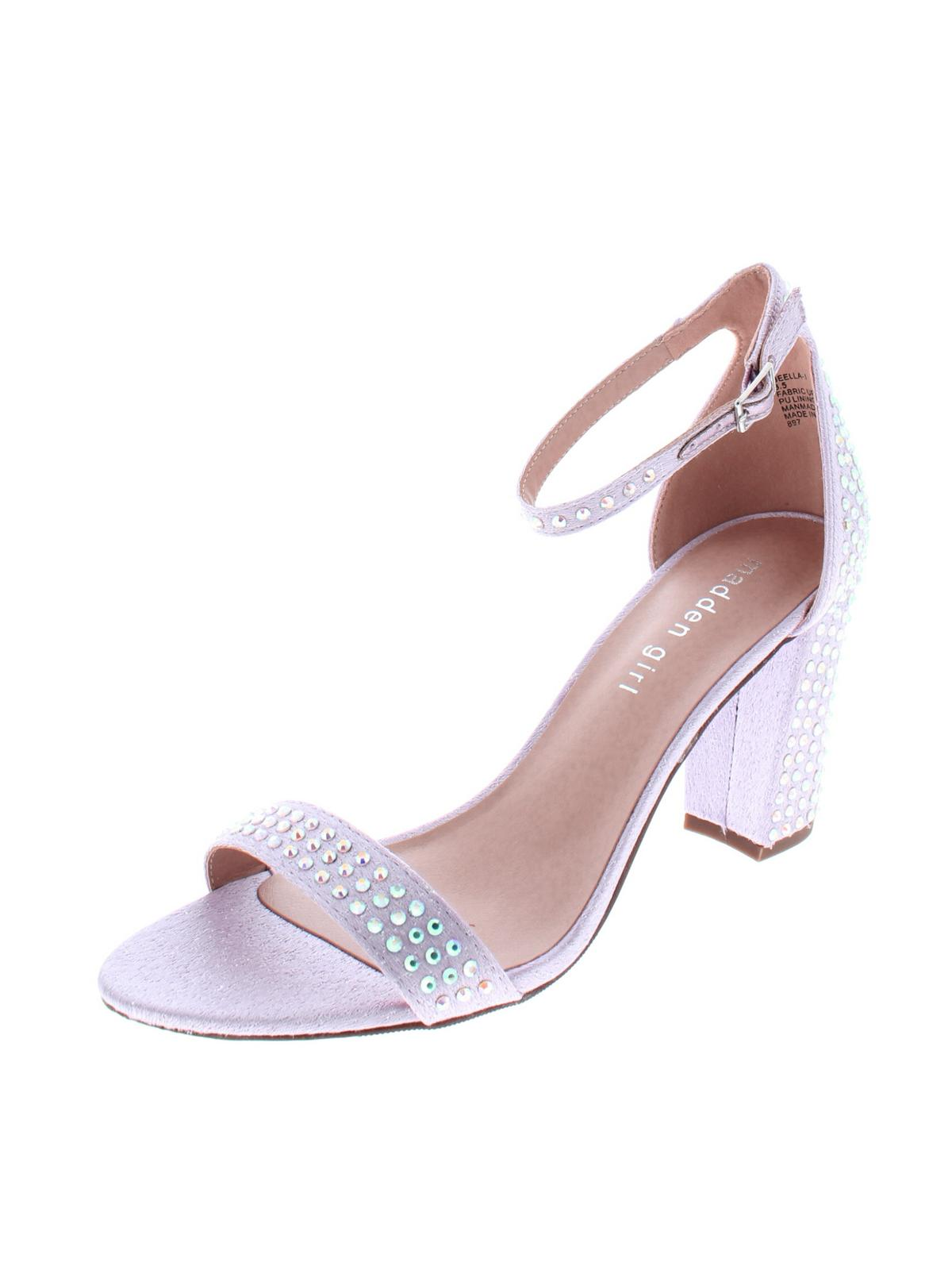 Madden Girl Womens Beella Metallic Night Out Heels