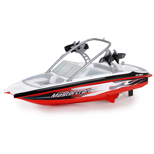"17"" Master Craft R/C FF Boat, Red"