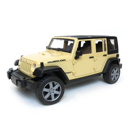 1/16th Jeep Wrangler Rubicon by Bruder 2525 (2008 Jeep Wrangler Unlimited Rubicon)