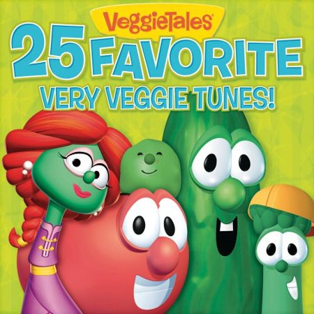25 Favorites Very Veggie Tunes (CD)