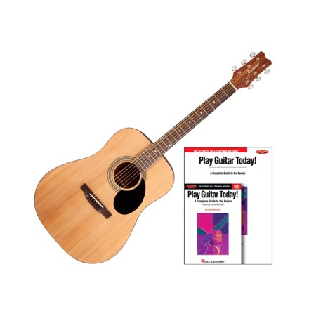 Jasmine S35 Acoustic Guitar Bundle Natural