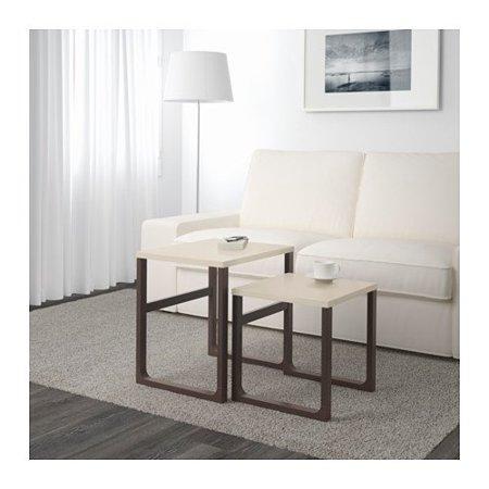 Ikea rissna nesting tables set of 2 beige walmart ikea rissna nesting tables set of 2 beige watchthetrailerfo