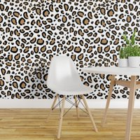 Peel-and-Stick Removable Wallpaper Cheetah Animal Leopard Cougar Luxe Girly