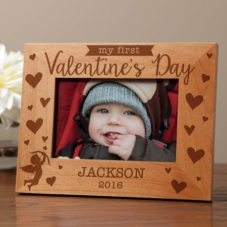 Personalized 1st Valentine's Day Frame