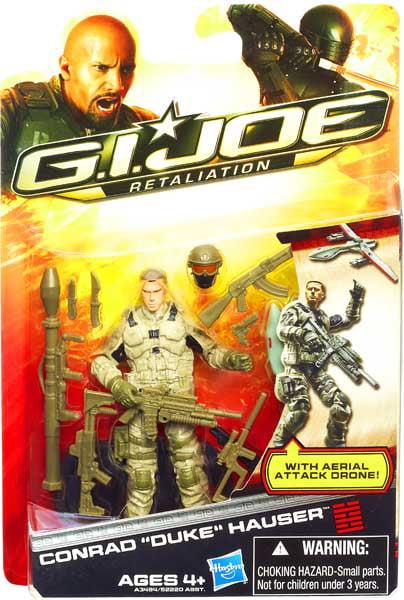 GI Joe Retaliation Conrad Hauser Duke Action Figure [Aerial Attack] by