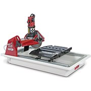 MK 159943 Tile Saw, 120 V, 18 in Cutting, Red