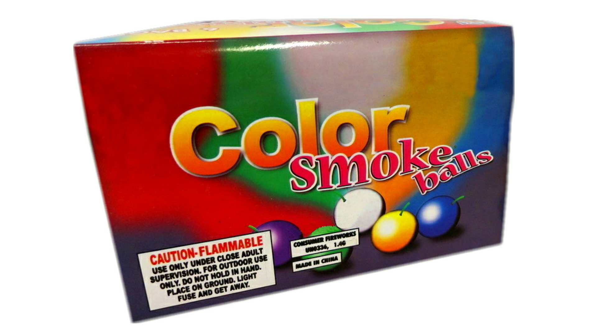 Professional Color Smoke Balls for graphy & Assorted