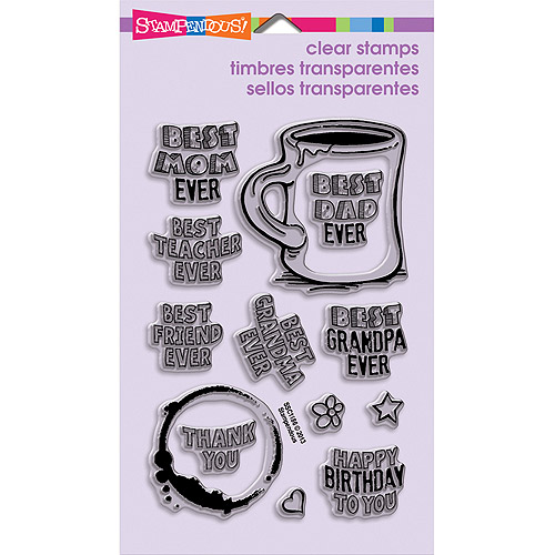 """Stampendous Perfectly Clear Stamps, 4"""" x 6"""" Sheet"""